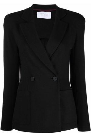 Harris Wharf London Senhora Blazers - Double-breasted virgin wool blazer