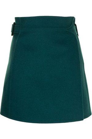 PORTS 1961 Senhora Saias - High-waisted wrap miniskirt