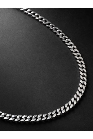 Shay Homem Colares - White Gold Chain Necklace