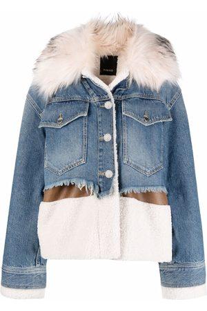 Pinko Shearling denim jacket