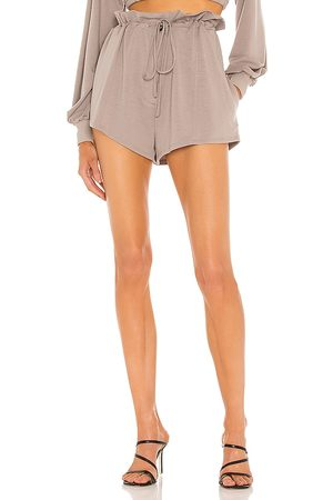 h:ours Georgi Paper Bag Shorts in - . Size L (also in XXS, XS, S, M, XL).