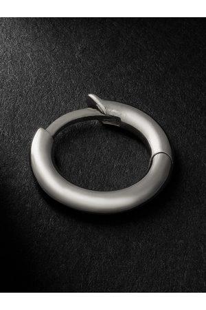 SPINELLI KILCOLLIN Homem Brincos - White Gold Single Hoop Earring