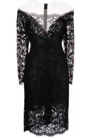 Dolce & Gabbana Lace-detail mini dress