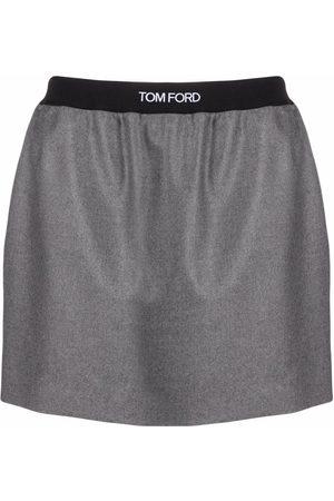 Tom Ford Cashmere jogging mini skirt