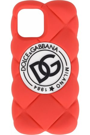 Dolce & Gabbana DG logo quilted iPhone 12 Pro Max cover