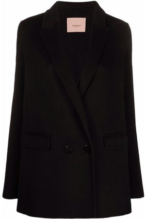 Twin-Set Double-breasted tailored blazer
