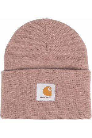 Carhartt Homem Chapéus - Logo-patch beanie