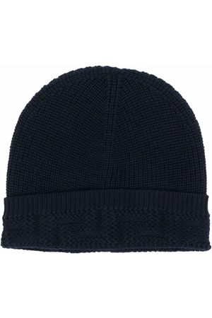 VERSACE Chapéus - Knitted beanie hat