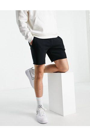 Topman Homem Calções - Co-ord short in black