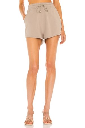 Michael Costello X REVOLVE Marley Short in - Taupe. Size L (also in XXS, XS, S, M, XL).