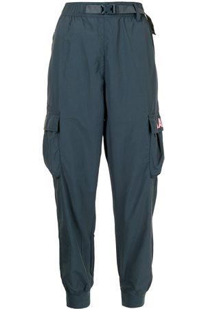 AAPE BY A BATHING APE Bucked-waist cargo-pockets slim-fit trousers