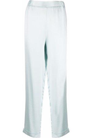 12 STOREEZ High-rise straight leg trousers