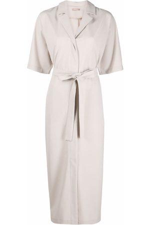 12 STOREEZ Tie-waist kimono dress