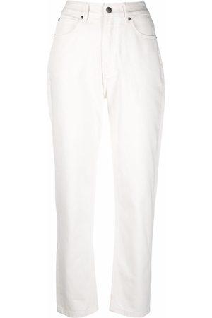 12 STOREEZ Senhora Tapered - High-rise tapered leg jeans