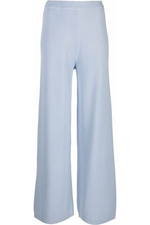 12 STOREEZ Knitted wide leg trousers