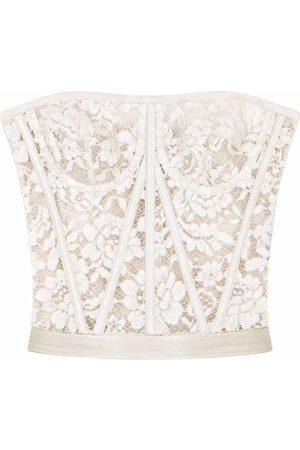 Dolce & Gabbana Senhora Soutiens & Corpetes - Lace bustier top