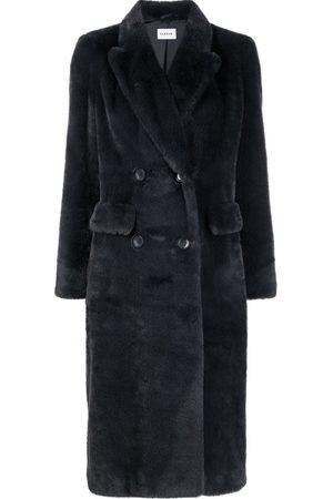 P.a.r.o.s.h. Senhora Casacos de Inverno - Faux-fur double-breasted coat