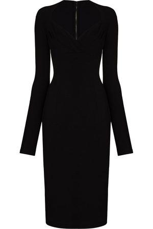 Dolce & Gabbana Senhora Vestidos de Festa - Sweetheart-neck fitted dress