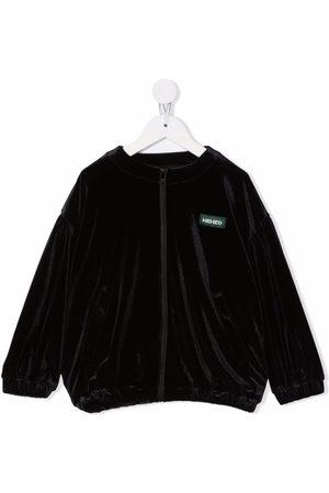 Kenzo Logo-graphic print zipped sweatshirt