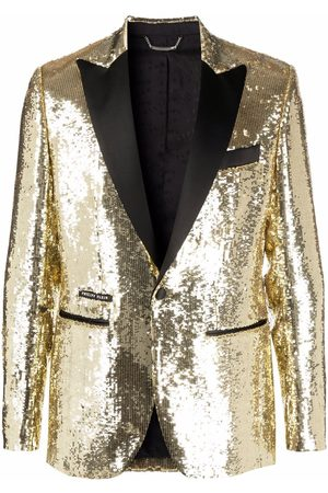 Philipp Plein Homem Blazers - Lord pailette-embellished blazer