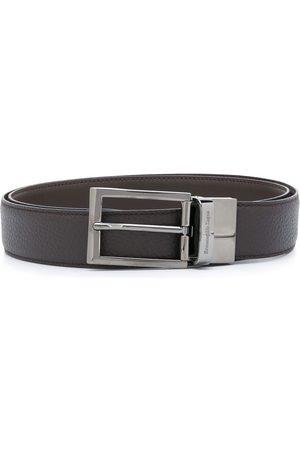 Ermenegildo Zegna Homem Cintos - Engraved logo belt