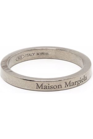 Maison Margiela Homem Anéis - Logo band ring