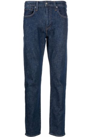 Levi's Homem Tapered - 512 logo-patch tapered jeans