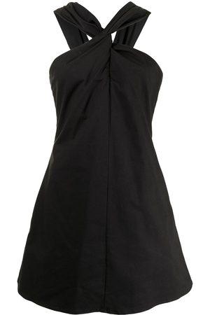 Anna Quan Senhora Vestidos de Festa - Imogen gathered knot-detail dress