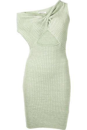 Anna Quan Senhora Vestidos Assimétricos - Zali asymmetric knitted dress