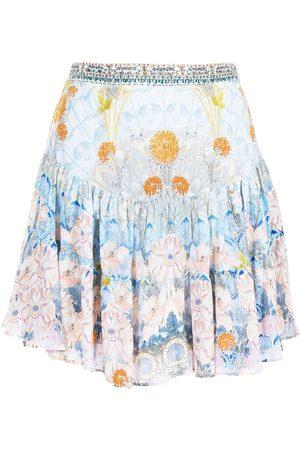 Camilla Morris flared mini skirt