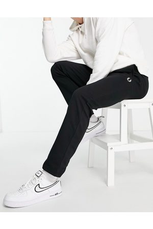 Fred Perry Homem Joggers - Reverse tricot joggers in black