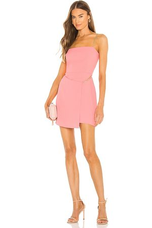 Amanda Uprichard Stilla Dress in - Pink. Size L (also in M, S, XS).