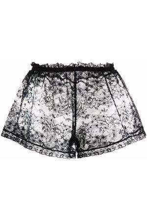 Dolce & Gabbana Sheer lace shorts