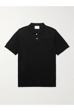 Handvaerk Homem Manga curta - Mercerised Pima Cotton Polo Shirt