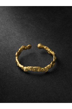 Healers Fine Jewelry Homem Brincos - Small Hammered Ear Cuff