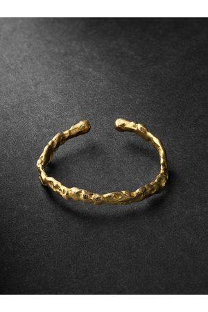 Healers Fine Jewelry Homem Brincos - Medium Hammered Ear Cuff