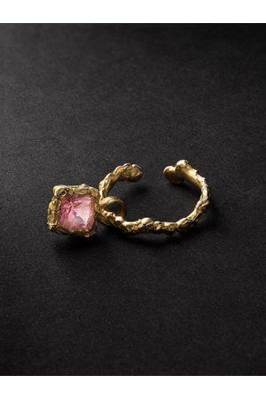 Healers Fine Jewelry Homem Brincos - 18-Karat Tourmaline Ear Cuff