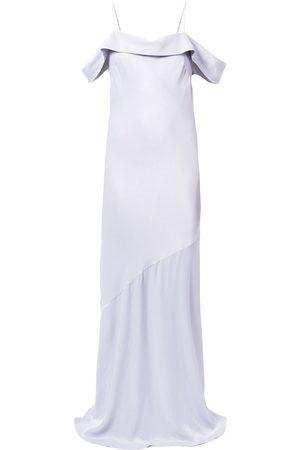 Rebecca Vallance Senhora Vestidos de Festa - Olivia off-shoulder slip gown