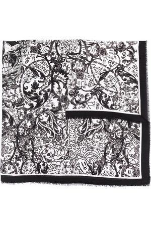 Philipp Plein Cachecóis & Echarpes - New Baroque print scarf