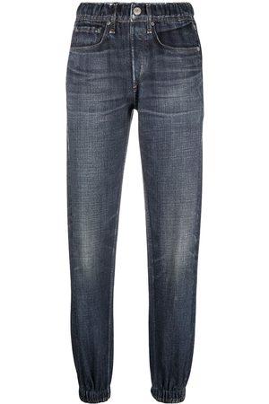 Rag & Bone High-rise tapered-leg jeans