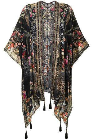 Camilla Senhora Casacos - Square Draped Layer Gothic Goddess silk cape