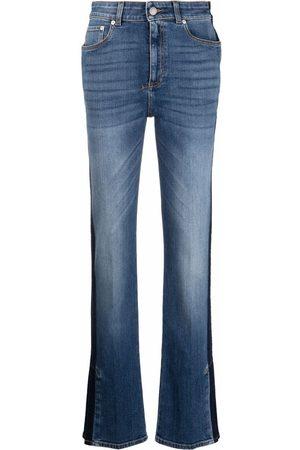Alexander McQueen Side-stripe detail jeans