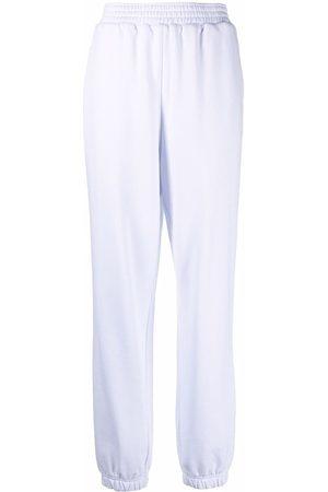 12 STOREEZ Wide-leg track pants