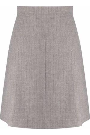 12 STOREEZ High-waisted A-line miniskirt