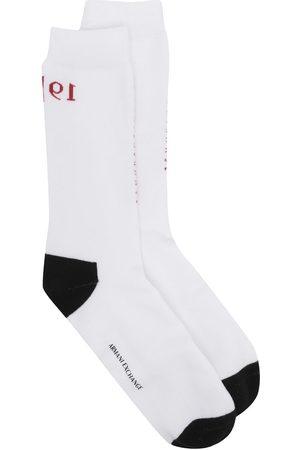 Armani Exchange Stitched logo ankle socks