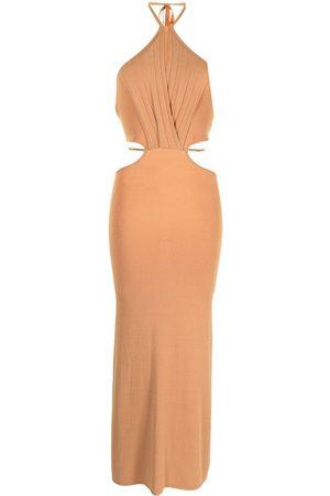 MANNING CARTELL Limitless chain-detail midi dress