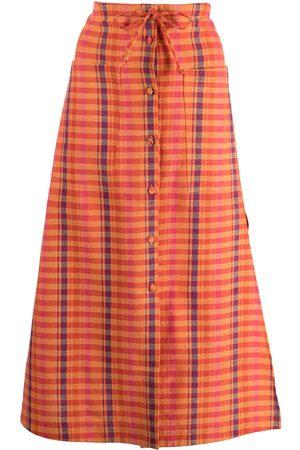 Altuzarra Tandy plaid skirt