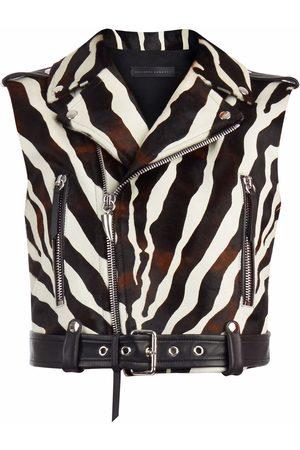 Giuseppe Zanotti Senhora Tops de Cavas - IRD9001001 MULTICOLOR Furs & Skins->Bovine Leather (top grain)