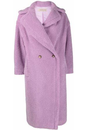 BLANCA Senhora Casacos de Inverno - Tuia double-breasted teddy coat
