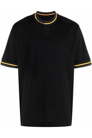 Fendi Contrast trim cotton T-shirt